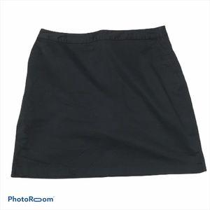 Adidas black 100% cotton golf skirt. Size 14